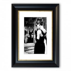 Tablou Audrey Hepburn Breakfast Cornwall, 126 x 93 cm