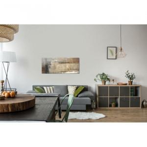Tablou, panza, maro, 50 x 120 x 3 cm