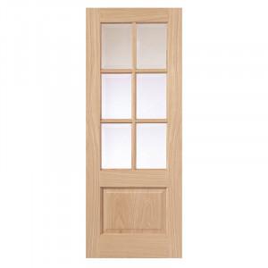 Ușă interioară Dove din stejar masiv