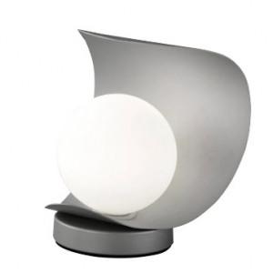 Veioza Adria, LED, metal/sticla, gri, 16 x 18 x 14 cm