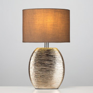 Veioza Bodden din ceramica, auriu, H 29 cm