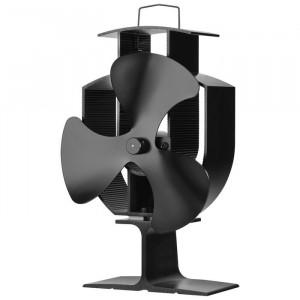 Ventilator Lucien, Negru, 22,5 x 14,5 x 9,5 cm