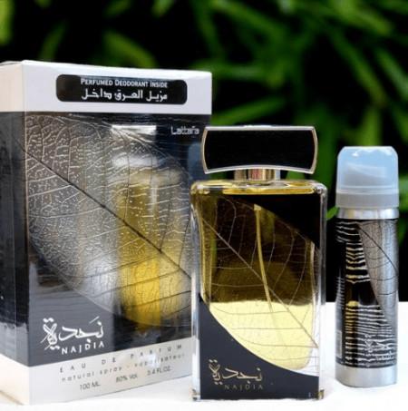 Set Najdia, apa de parfum 100ml si deodorant spray 50ml
