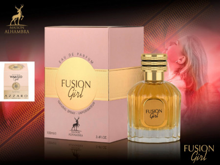 Fusion Girl (Inspired by AZZARO-Wanted Girl) 100 ml