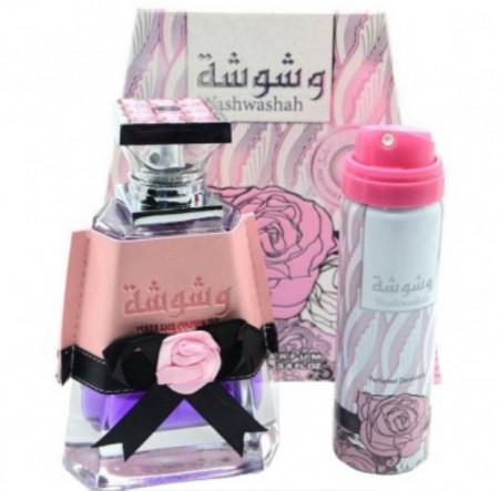 Washwashah, Femei, 100 ml + Cadou Deodorant Spray, 50 ml