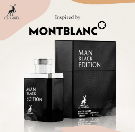 Man Black Edition (Inspired by Mont Blanc Legend), 100ml