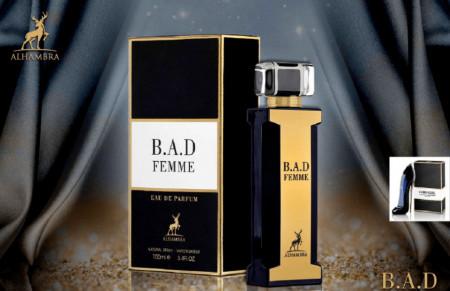 B.A.D Femme-100ml (Inspired by Carolina Herrera Good Girl)