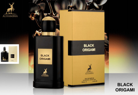 Black Origami, (INSPIRED BY TOM FORD- BLACK ORCHID) 100 ml