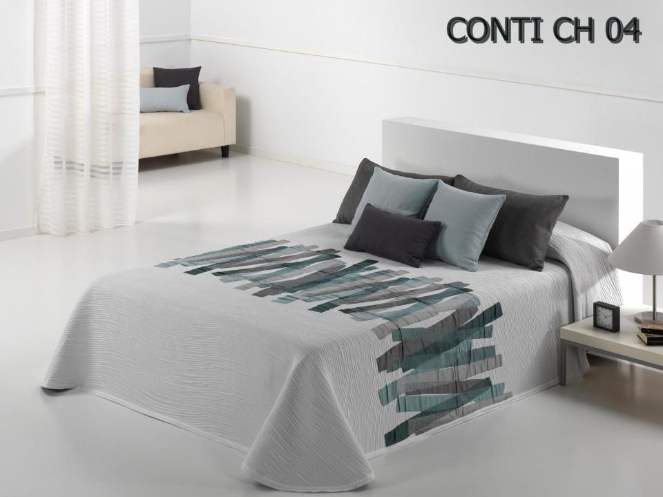Cuvertura conti for Miroir au dessus du lit