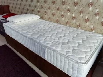 Saltea Confort Rest (Arcuri impachetate si fibra de Cocos)