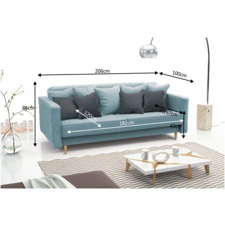 Canapea extensibila Nido