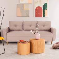 canapea extensibila roz 225x85x84 cm