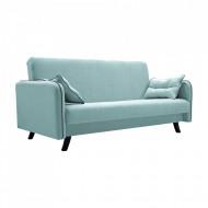 canapea extensibila verde mentol 206x107x100 cm