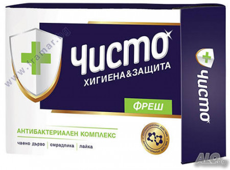 Антибактериален сапун Чисто -