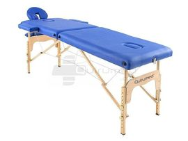 QMED 579-M1L-AZ - Masa masaj pliabila din lemn fara spatar