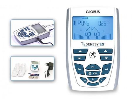 QMED 648-G3725- Electrostimulator 2 canale GENESY SII pentru uz profesional, fizioterapie