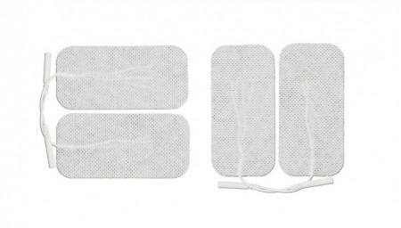 Poze 4FR10 - pad-uri cu gel autoadezive, cu fir, pt aparate TENS/EMS, 10x5cm
