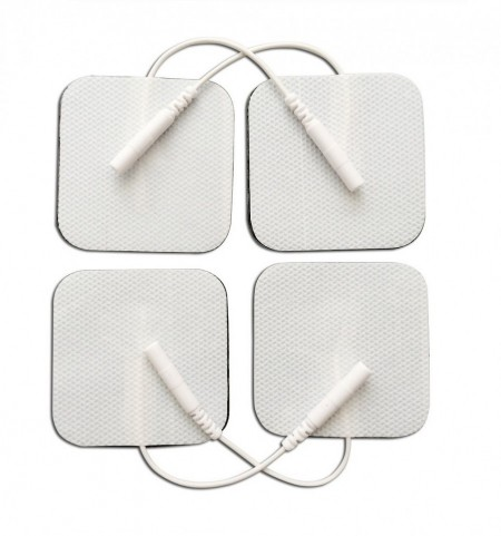 Poze 4FR5 - pad-uri cu gel autoadezive, cu fir, pt aparate TENS/EMS, 4.5x4.5cm