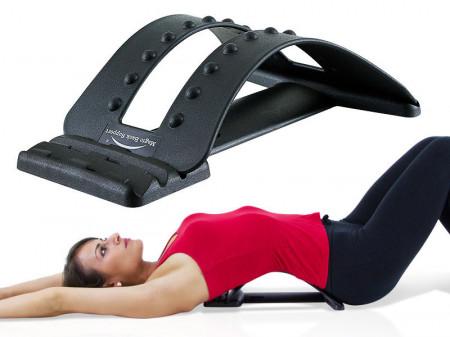 QMED 1083-MBS-010B- Suport lombar, cu 20 de puncte de masaj de relaxare