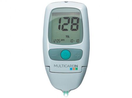 MULTICARE-IN - Aparat pentru masurarea glicemiei, colesterolului si trigliceridelor