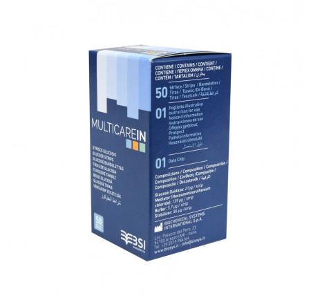 Poze MULTICARE IN - Teste glicemie 50teste/cutie