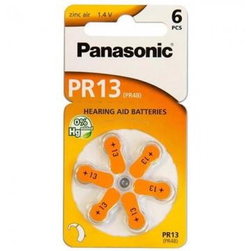 Poze PANASONIC PR13 - baterii ZincAir 1.4V, 6buc
