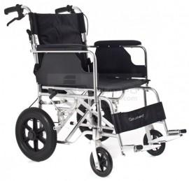Poze QMED 183-865LABJ-46- Scaun cu rotile din aluminiu pentru calatorie, 46 cm latime