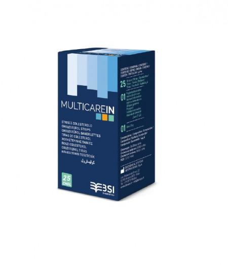MULTICARE IN -Teste colesterol 25teste/cutie