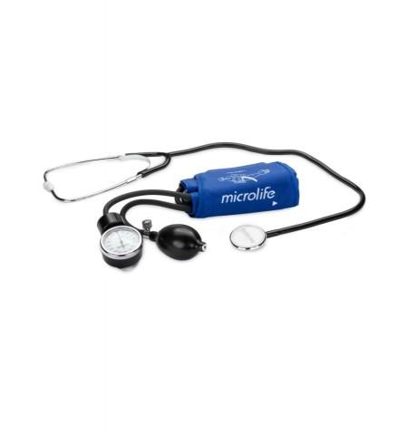 Poze MICROLIFE BP AG1-20 Tensiometru aneroid (mecanic) profesional, manometru si stetoscop inclus