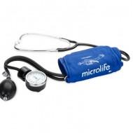 Tensiometru aneroid profesional, MICROLIFE BP AG1-30, cu stetoscop si manometru