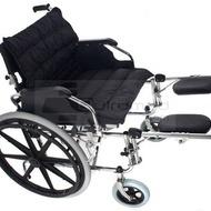 QMED 183-951ACB-56 - Scaun cu rotile din otel