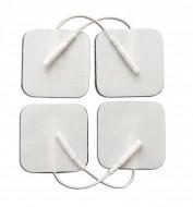 4FR5 - pad-uri cu gel autoadezive, cu fir, pt aparate TENS/EMS, 4.5x4.5cm