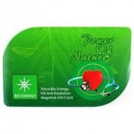 BIO-energy card - protectie antiradiatii electromagnetice, cu ioni negativi si infra-rosu (FIR)