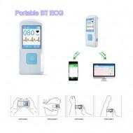 CONTEC PM10- Electrocardiograf ECG portabil, cu acumulator, conectare USB si BT