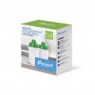 ECOSOFT- Set de 2 Cartuse filtrante pentru Cana Ecosoft