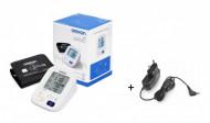 OMRON M3 (model 2020) cu adaptor de priza - tensiometru digital, automat, de brat, INTELLISENSE