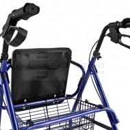 QMED 183-KY9146L- Cadru de umblat ultrausor si rabatabil din aluminiu cu scaun si frane
