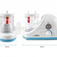QMED 879-3-C- Aspirator chirurgical portabil 18 LPM