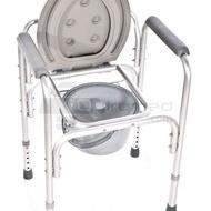 QMED 183-813L - Scaun dus sau baie pentru asistenta tehnica cu toaleta