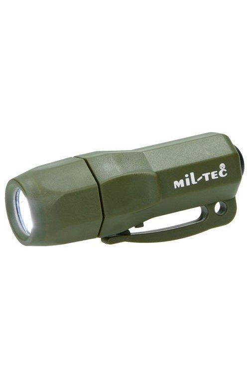 MINI LAMPA DE SUPRAVIETUIRE 3 LED MIL-TEC OLIV