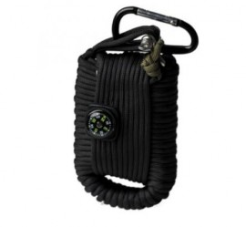 Poze KIT SUPRAVIETUIRE PARACORD BLACK LARGE