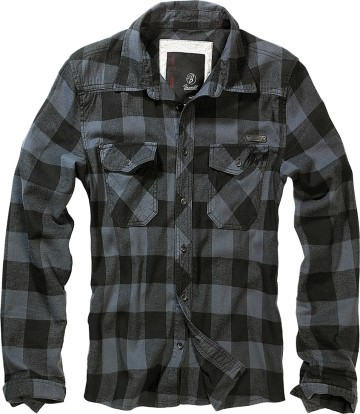 Poze CAMASA CHECK SHIRT GREY-BLACK