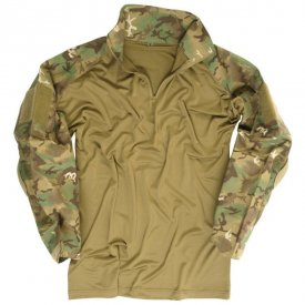 BLUZA TACTICA WARRIOR CAMUFLAJ ARID WOODLAND