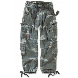 PANTALONI RAW VINTAGE AIRBORNE NIGHT CAMO