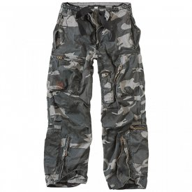 PANTALONI RAW VINTAGE INFANTRY CARGO NIGHT CAMO