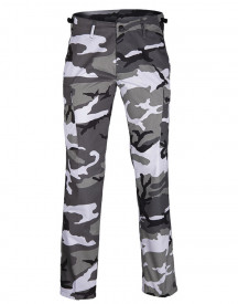 PANTALONI US BDU STY.RANGER FIELD PANTS ′STRAIGHT CUT′ URBAN CAMO
