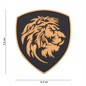 Patch 3D PVC Punisher Dutch Lion