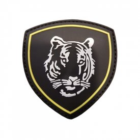 Patch 3D PVC Russian Tiger Black
