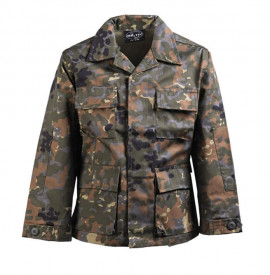 VESTON COPII BDU CAMUFLAJ FLECTAR