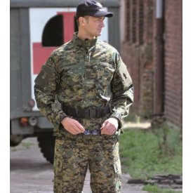 VESTON RIPSTOP ACU CAMUFLAJ DIGITAL WOODLAND
